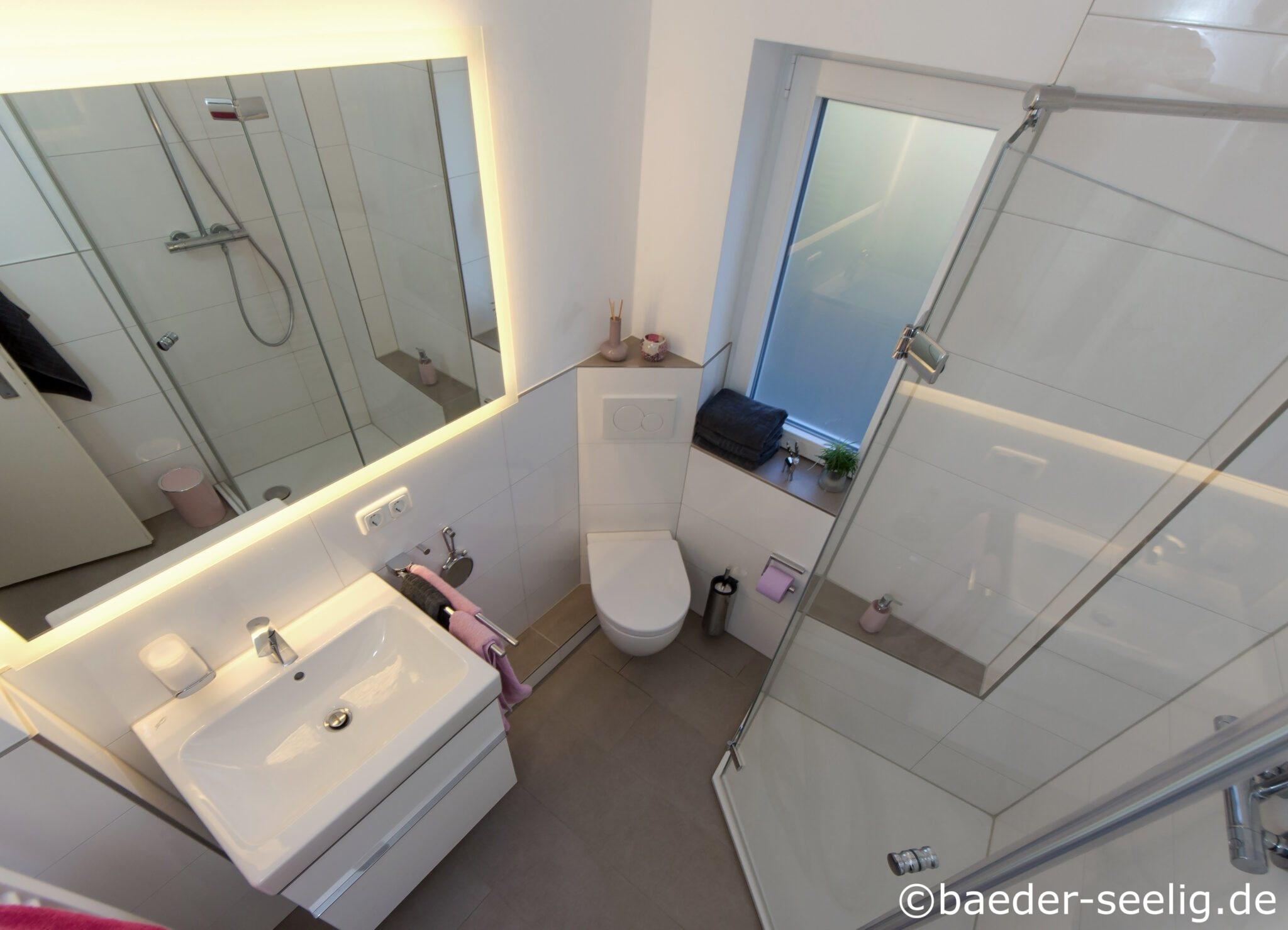 5 qm badezimmer mit ideen  fünfeckdusche bÄser seelig