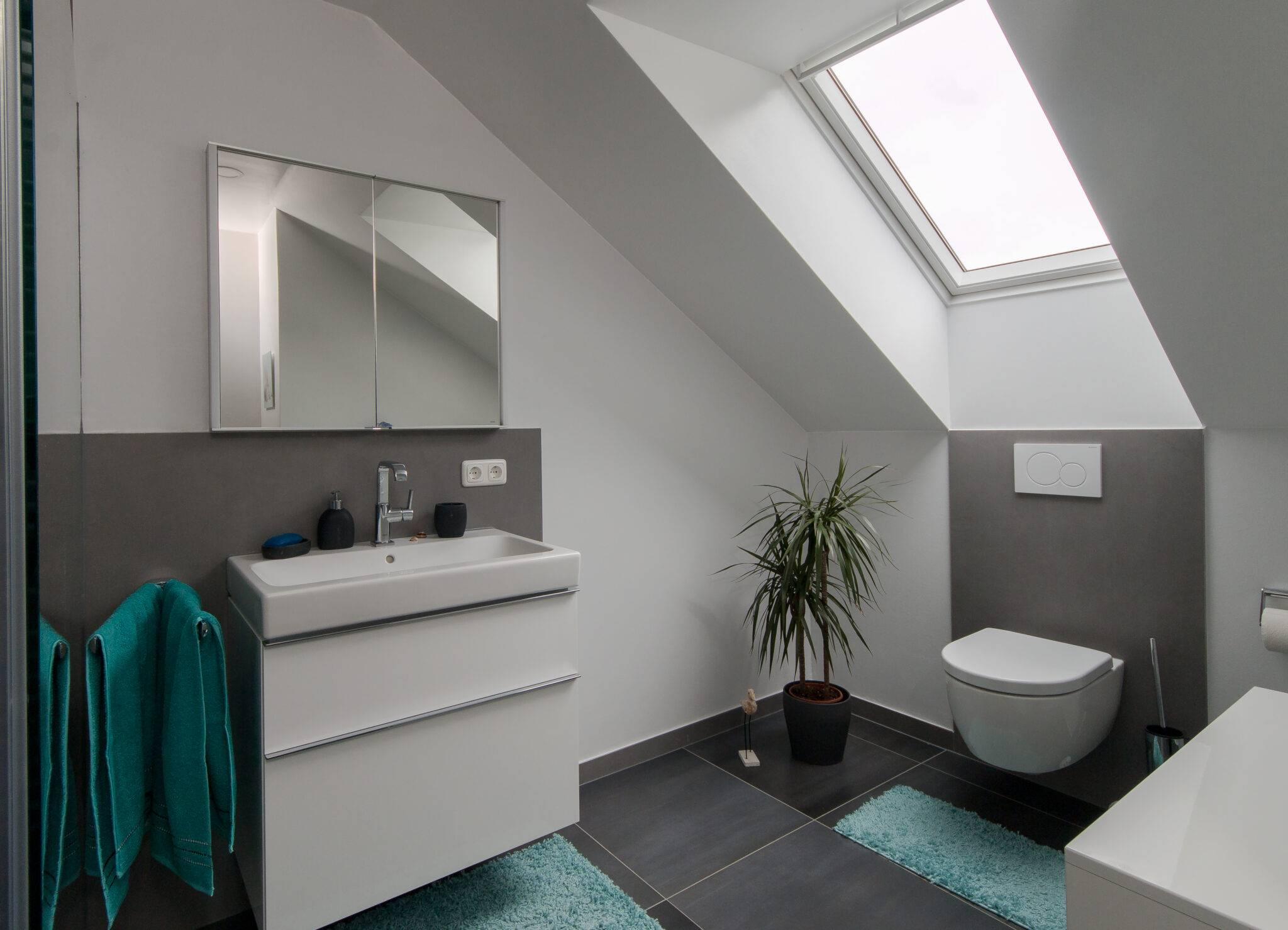 Badezimmer bis 21 qm nach der Badsanierung   BÄDER SEELIG